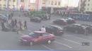 18 Камера наблюдения сняла как автобус сбил женщину возле вокзала в Екатеринбурге