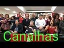 Haddad cantando Viva o partido comunista do Brasil e a juventudo do araguaia