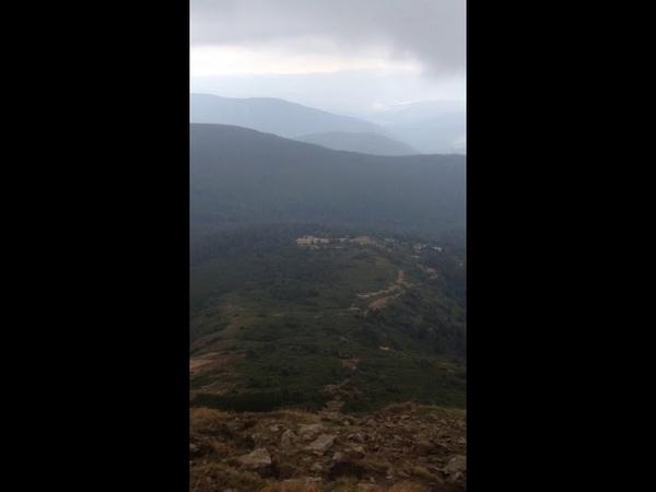 Спуск з гори Говерла ) 🍃🍃🍃