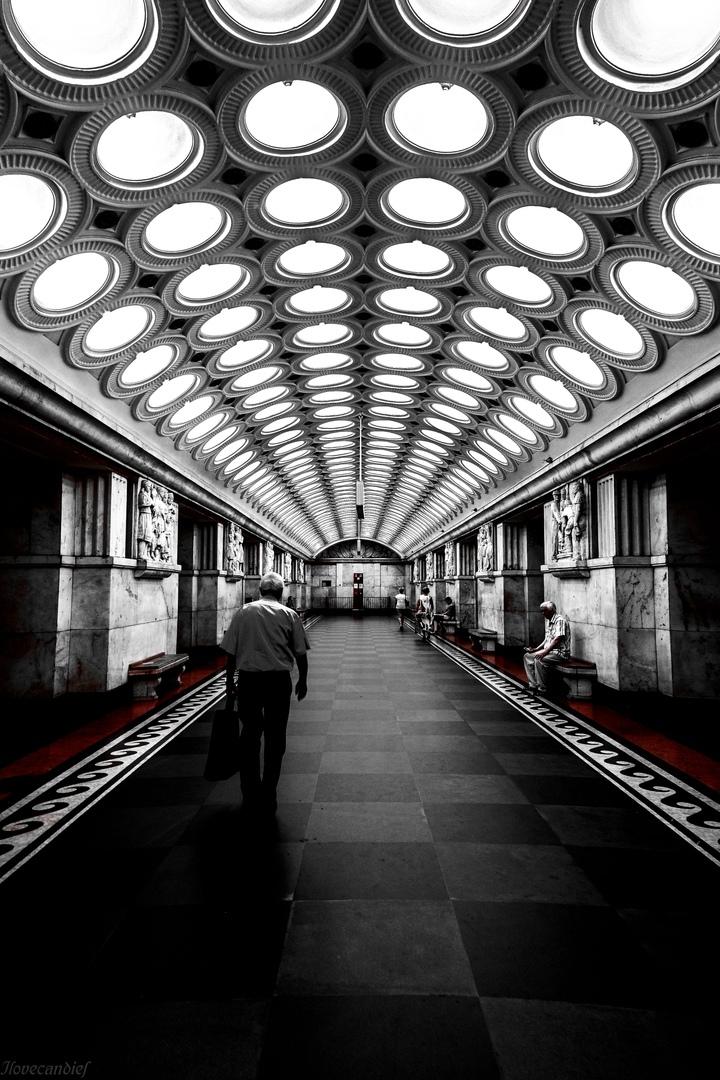 Футуристические станции Московского метрополитена
