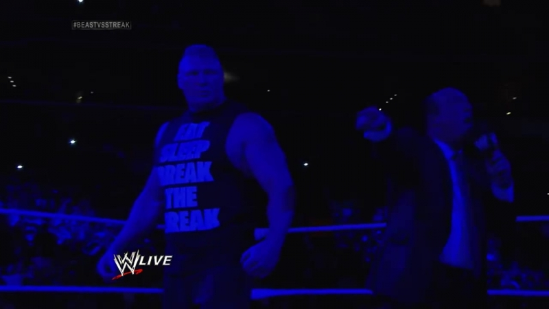 Undertaker rises from a coffin to attack Brock Lesnar Raw March 24 2014