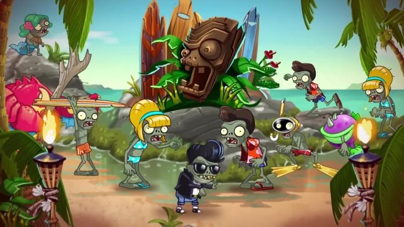 Plants vs Zombies 2 Big Wave Beach Part 1 Play Now