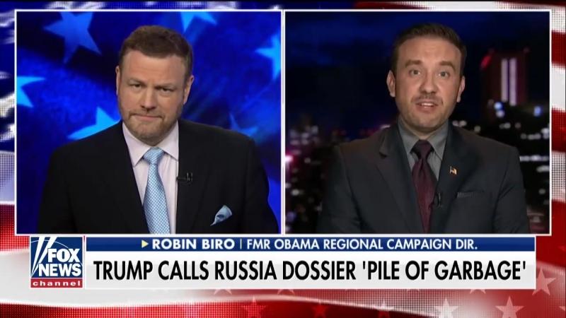 President Trump blasts Russia dossier, slams FBI