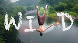 WILD THINGS - PEACE ROCK Cliff Jumping &amp Dam Sliding