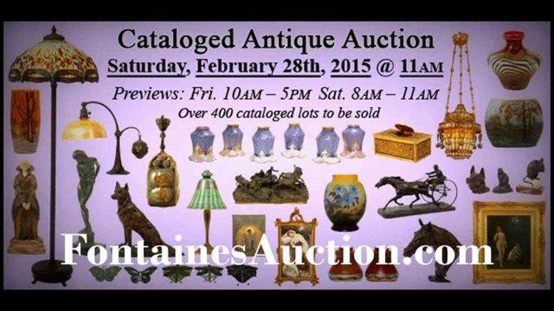 February 28 2015 Cataloged Antique Auction