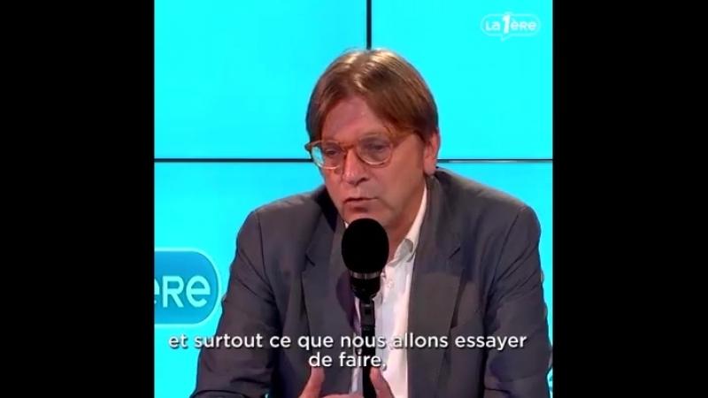 Pour Guy Verhofsdat la démocratie européenne est en danger