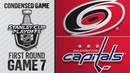 04 24 19 First Round Gm7 Hurricanes @ Capitals