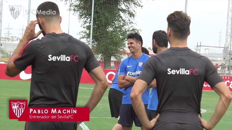 24 horas con Sergi Gómez. Sevilla FC