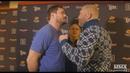 Bellator 215 Matt Mitrione vs Sergei Kharitonov Media Day Staredown MMA Fighting