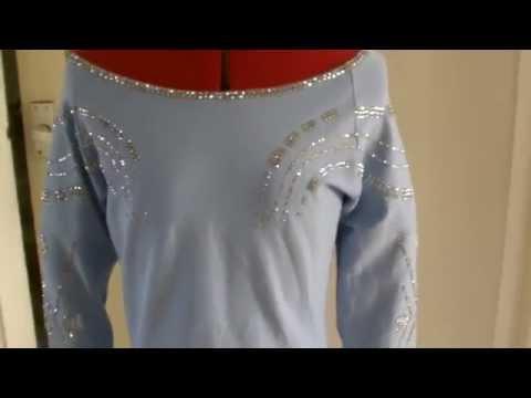 Elsa Frozen Stretch top Tutorial