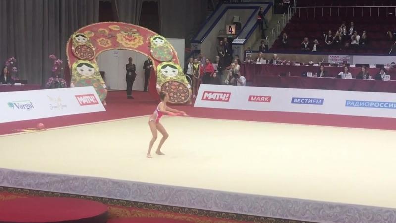 Александра Скубова булавы Международный турнир юниорок 2018