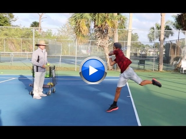 The best tennis drill to improve the return