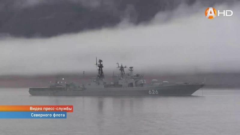 БЕЗ КОММЕНТАРИЕВ: Арктическая группировка Северного флота завершает участие в учениях на Чукотке
