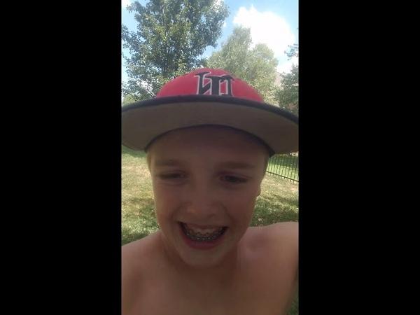 Patrick Leary ice bucket underwear challenge