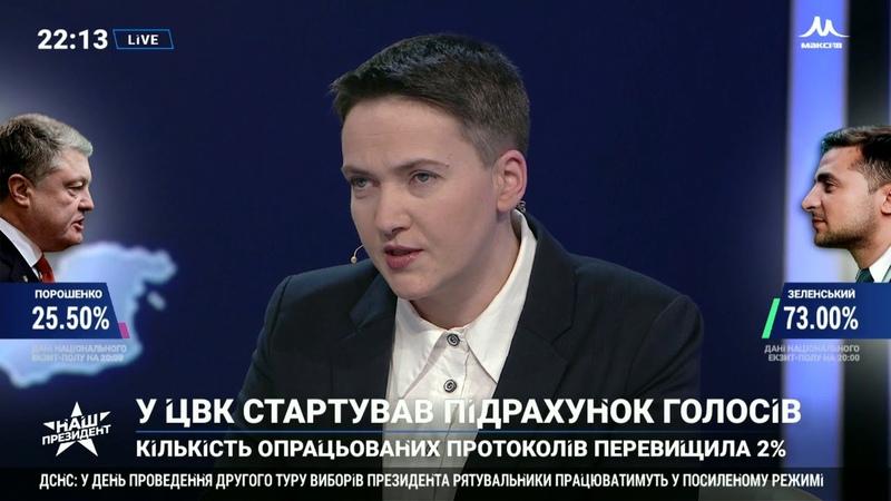 Савченко: Я думаю, вийде не скурвитися і президенту, і політиці. НАШ 21.04.19
