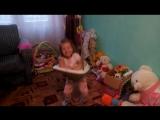 А так проходят наши дни. Василиса любит прыгать в прыгунках.