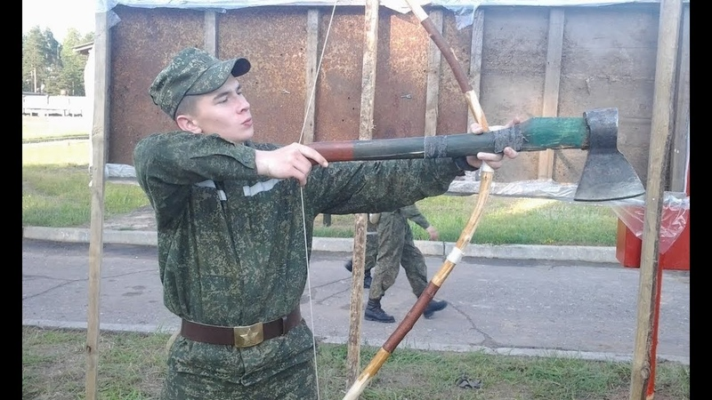 Командиры учат солдат. Приколы в армии.