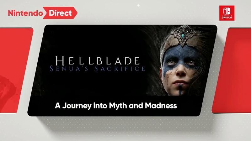 Hellblade Senuas Sacrifice Switch Reveal Trailer Nintendo Direct