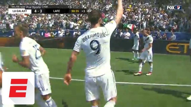Ibrahimovic scores two amazing goals in MLS