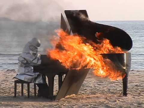 Yosuke Yamashita Burning Piano 2008