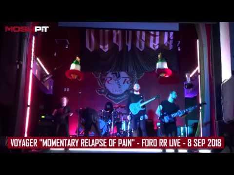 Voyager Momentary relapse of pain - RR Live - 8 Sept 2018 » Freewka.com - Смотреть онлайн в хорощем качестве