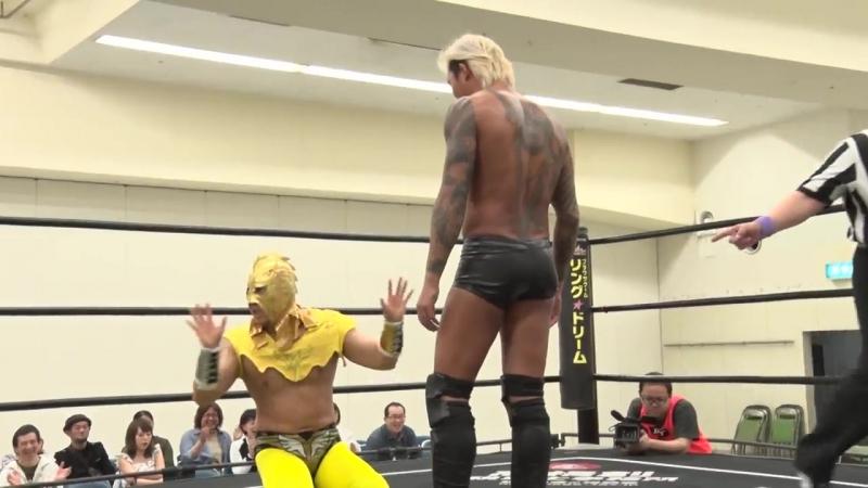Masahiro Takanashi, Yukio Sakaguchi vs. Hiratimo Dragon, Takatimo Dragon (DDT - Road to Ryogoku 2018 ~ Dramatic Dream Tonkotsu)