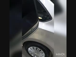 Выдача нового Volkswagen polo