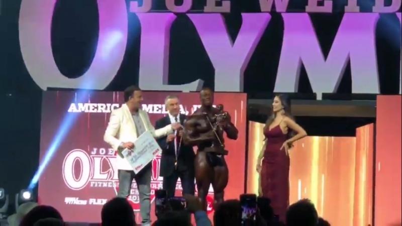 Shawn Flexatron Rhoden IFBB новый MR.OLYMPIA!