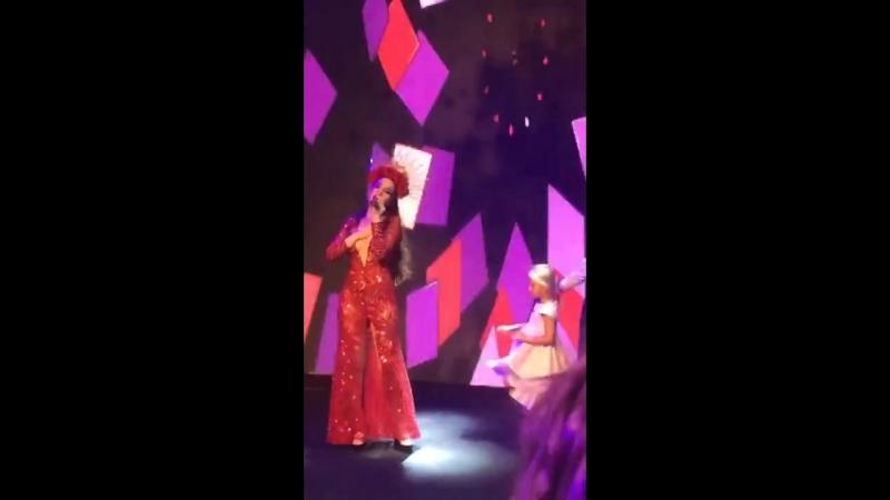 Natalia Oreiro Me muero de amor Private show in Moscow 16 8 2018