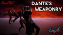Devil May Cry 5 Dante's Weaponry