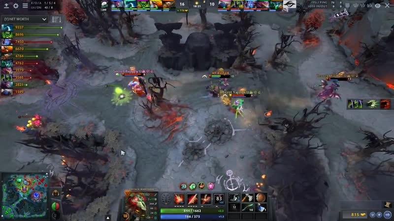 SECRET vs VP TOP 2 MATCH ! ONE OF THE MOST INTENSE SERIES of Kuala Lumpur Major