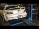 Mazda Rx-8 with GTR R35 Exhaust system