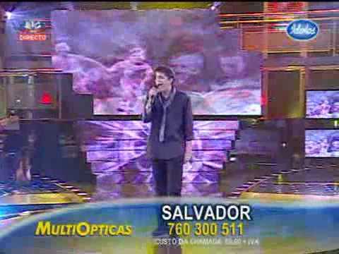 Salvador - Heal the World - 4ª Gala Idolos 2009