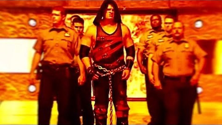 WWE Kane BEST ENTRANCE EVER HD Raw 08 11 2003
