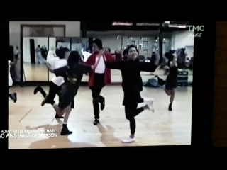 Michael Jackson - Making of Black Or White (New Footage)