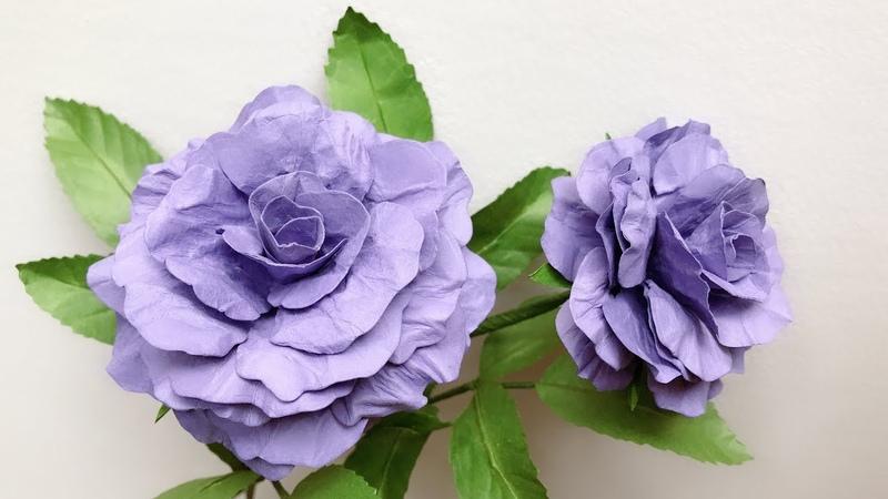ABC TV | How To Make Rose Paper Flower 2 | Flower Die Cuts - Craft Tutorial