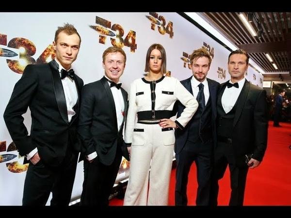 Актёры Т 34 обсудили фильм с Индустрией кино