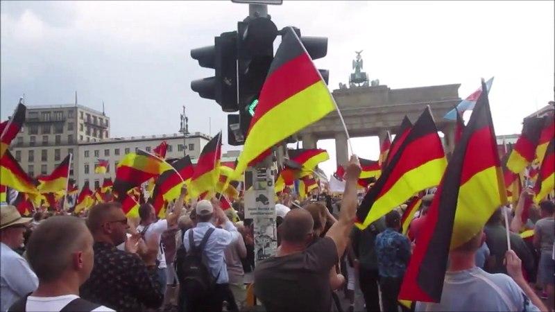 Kurze Impressionen von der AfD Großdemo Berlin 27 5 2018