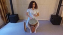 Fingerstyle on djembe. Fusion technigues by Masha Anisimova