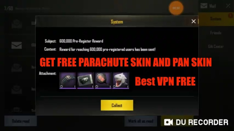 PUGH MOBILE | Secret Trick Get Free Parachute And Pan Skin And Silver