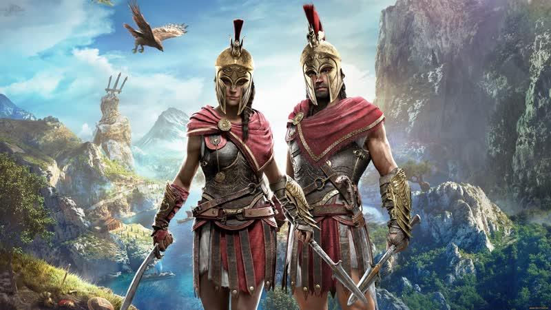 Assassins Creed Odyssey 15 - FullHD 60 fps Контракты Игра пройдена 100