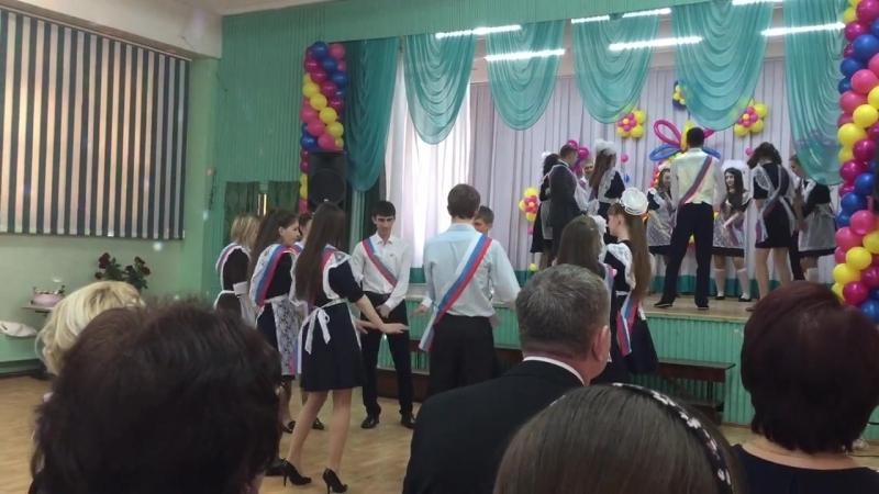 Танец, 11А, 30 школа, Братск