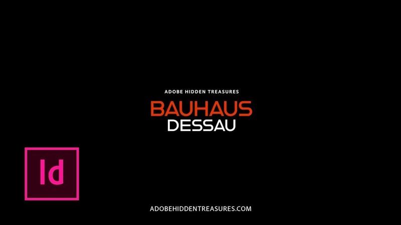 Hidden Treasures Bauhaus Poster Design Tutorial Adobe Creative Cloud