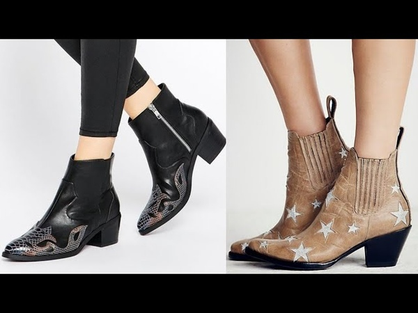 Tendencias Botines Cowboy Mujer 2019   Botas camperas o cowboy   Zapato de Moda