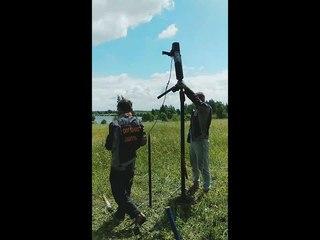 Готовим поляну у Василькового озера к Купальской сказке.