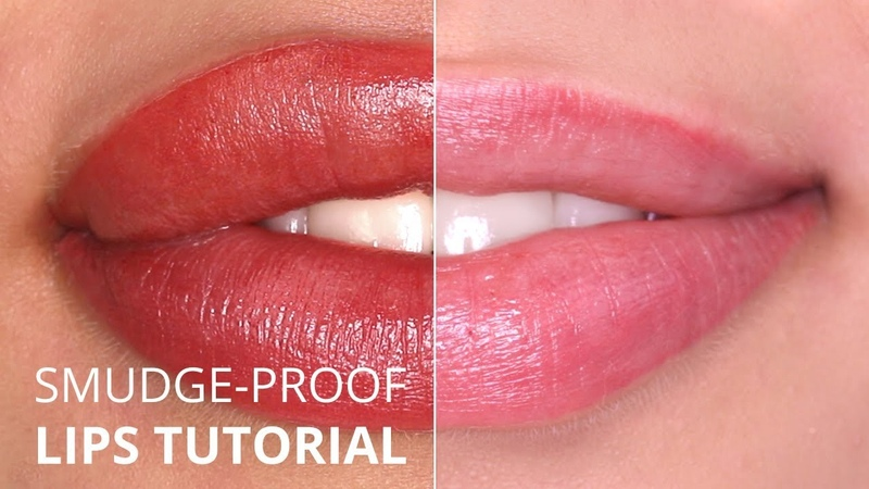 Perfect Smudge-proof Permanent Makeup lips TUTORIAL