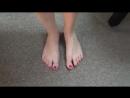 27 yo girl candid very sexy soles)