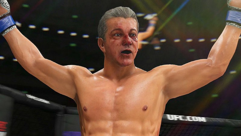 BRUCE BUFFER IS IN EA SPORTS UFC 3!!