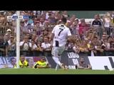 Дебютный гол Cristiano Ronaldo за Ювентус в товарищеском матче
