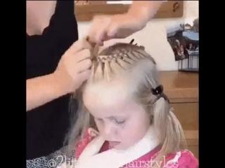 Красивая причёска для девочек